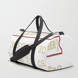 Aerospace Engineer Funny Dictionary Term Duffle Bag