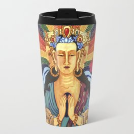 Buddha of Compassion Travel Mug