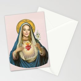 Modern Virgin Mary Stationery Cards