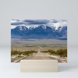 Owens Valley Road Mini Art Print