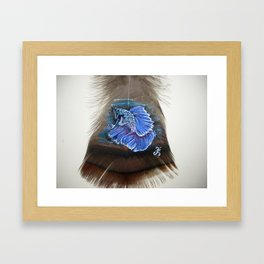 Lovely Betta Fish Framed Art Print