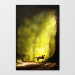 Canine Fairy  Canvas Print