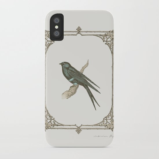 A Victorian Bird iPhone Case