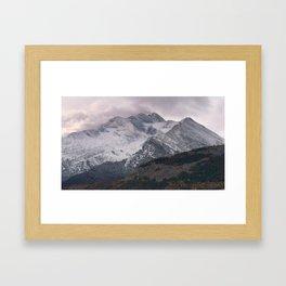 The Alps 4 Framed Art Print