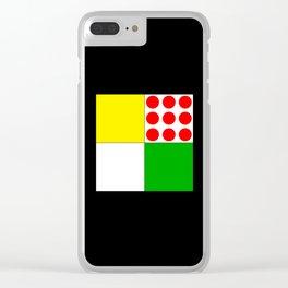 Tour de France Jerseys 1 Clear iPhone Case