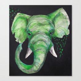 Old Elephant Canvas Print