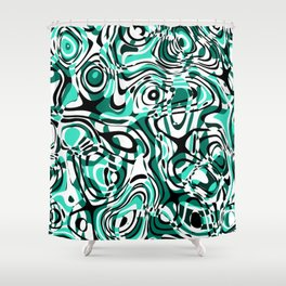 ill-defined 6 Shower Curtain