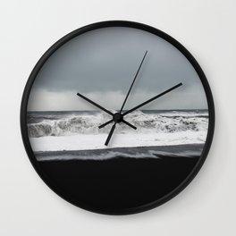 Winter Waves Wall Clock