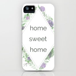Sweet Home iPhone Case