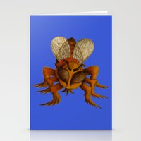 bee Stationery Cards featuring bee by giol's by gianalberto oliva