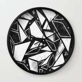Geometrics III Wall Clock