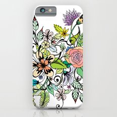 Floral White iPhone 6s Slim Case