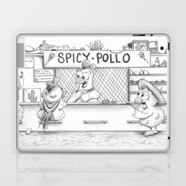 Spicy Pollo Margaritas Laptop & iPad Skin