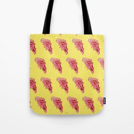BASKETBALL PIZZA (Pattern) Tote Bag