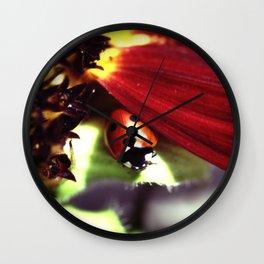 Heart Shaped Spot Wall Clock