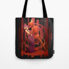 The Devil's Hands are Idle Playthings Tote Bag
