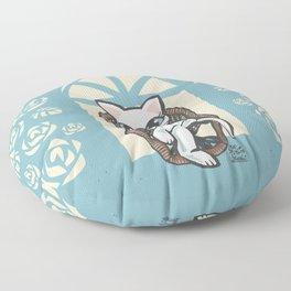Rattan chair Floor Pillow