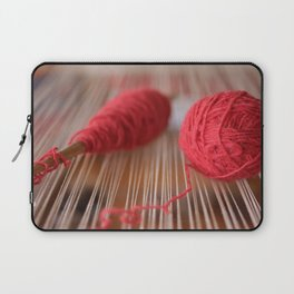 Loom and spindle craft Laptop Sleeve