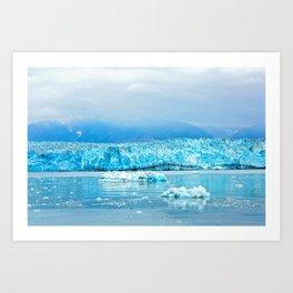 Icy Depths Art Print