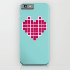 Pixelated Heart iPhone 6s Slim Case