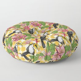 Toucans Floor Pillow