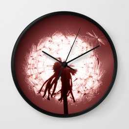 Dandelion 3 Wall Clock