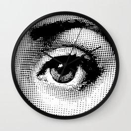 Lina Cavalieri Eye 02 Wall Clock