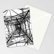 Large Electricity Powermast Stationery Cards