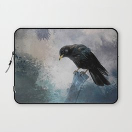 Black Crow Laptop Sleeve