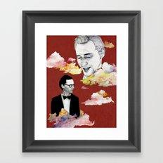 Cloud, Smoke Framed Art Print