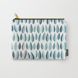 Mid-Century Modern Leaf pattern Collection 3 Carry-All Pouch