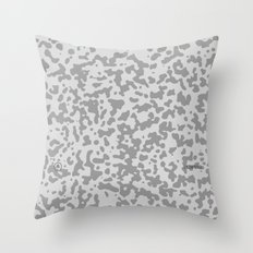 Comp Camouflage / Grey Throw Pillow