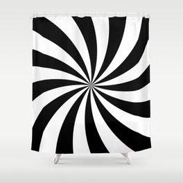 Super Swirl Shower Curtain