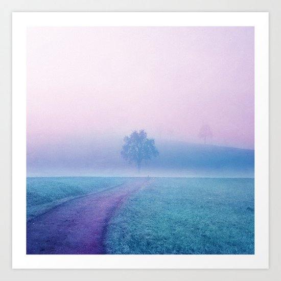 Pastel vibes 02 O-P Art Print