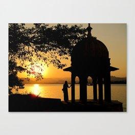 I dream of India Canvas Print