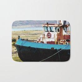 Rusted ship Bath Mat