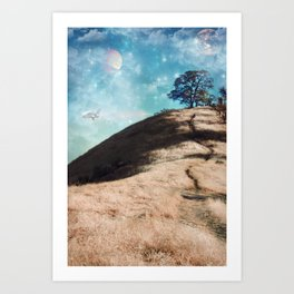 Not On This Earth Art Print