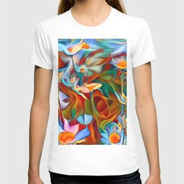 Psychedelic Daises T-shirt