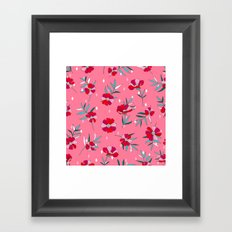 Pink Summer Framed Art Print