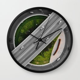 Art from above Wall Clock