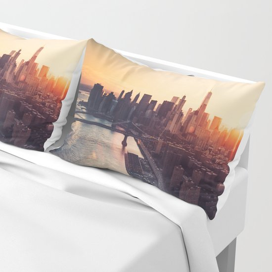 new york city skyline by franckreporter