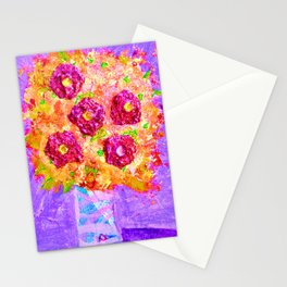 Little Sparkly Bouquet Stationery Cards