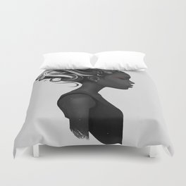 Hard to say Duvet Cover