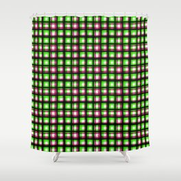 Upbeat SK8ter Chess Pattern V.02 Shower Curtain