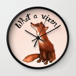 What a Vixen! Wall Clock