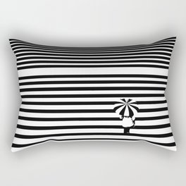 Rainy lines Rectangular Pillow
