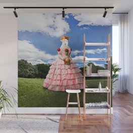 Semolina Sheep on Her Way to the Ball Wall Mural