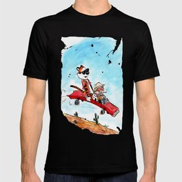 Calvin and Hobbes Fear and Loathing in Las Vegas T-shirt