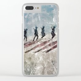 The Long Walk, World War Two Clear iPhone Case