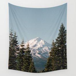 Mt Shasta Morning Wall Tapestry